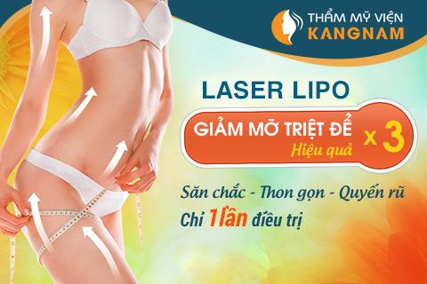 Cách loại bỏ mỡ bụng bằng công nghệ Laser Lipo