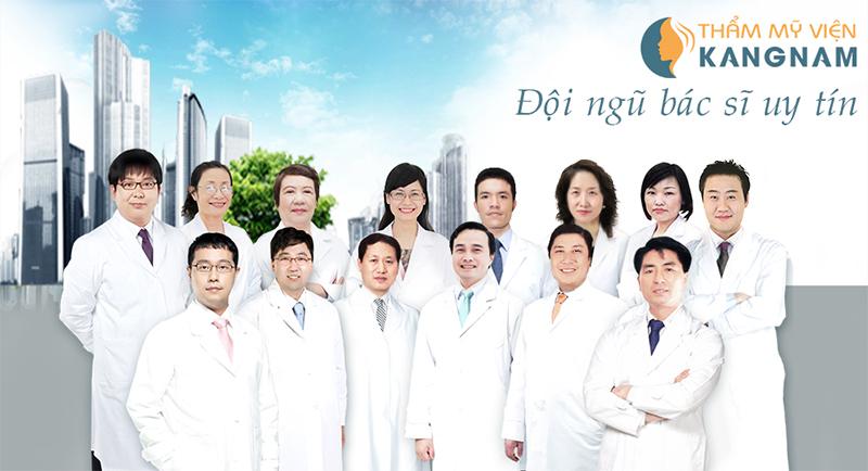 Đội ngũ y bác sĩ tại Kangnam là những người có kinh nghiệm lâu năm