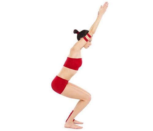 """""""Mẹo"""" giảm cân hiệu quả với 5 bài tập yoga tại nhà1"""
