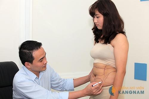 Đâu là cách hút mỡ bụng sau sinh an toàn?2