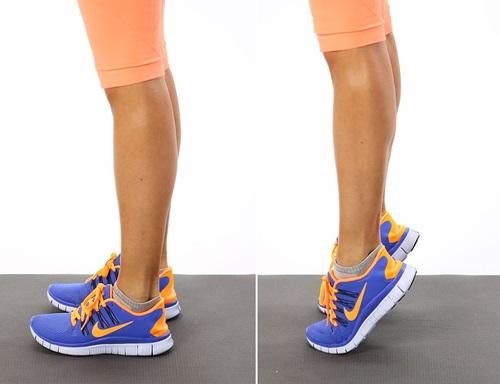 Bật mí cách làm tan mỡ bắp chân bằng bài tập thể dục tại nhà2