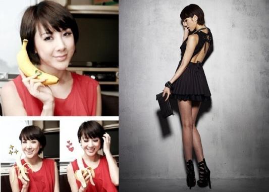 Chế độ ăn kiêng giảm cân bằng chuối của Seo In Young