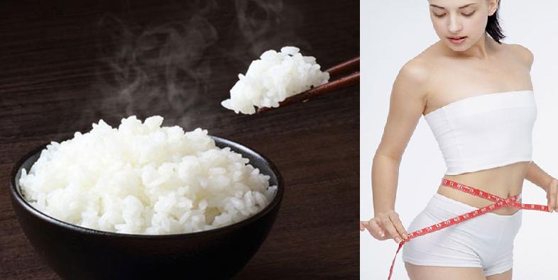 Giảm cân bằng cách ăn ít cơm có thể giúp giảm trọng lượng cơ thể