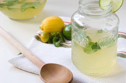 nước chanh muối giảm cân
