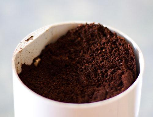 bã cà phê giảm mỡ mặt